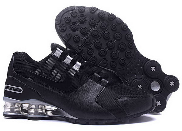 Mens Nike Shox Avenue Black Silver 40-46 Factory