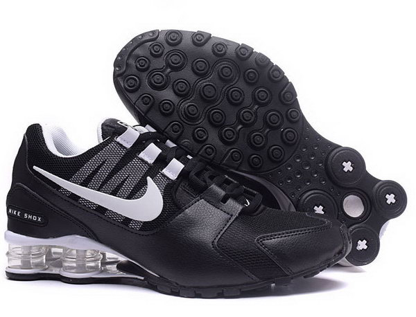 Mens Nike Shox Avenue Black White 40-46 Low Price