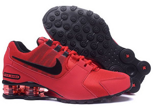 Mens Nike Shox Avenue Red Black 40-46 Sweden