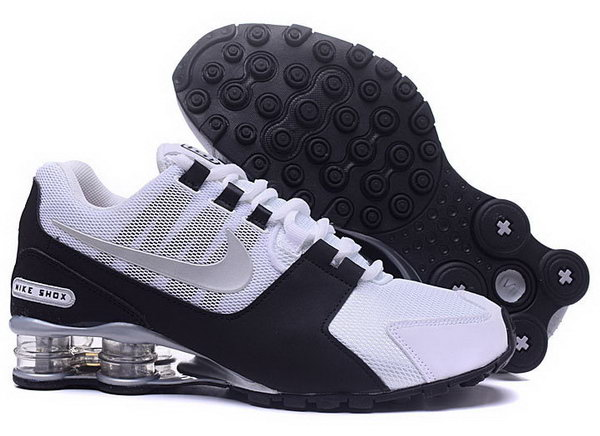 Mens Nike Shox Avenue White Black Silver 40-46 Uk