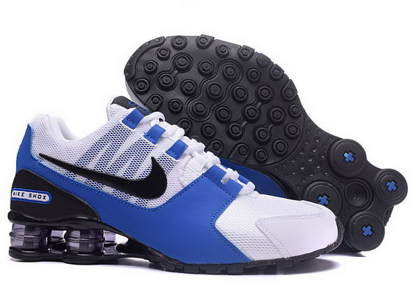 Mens Nike Shox Avenue White Blue Black 40-46 Poland