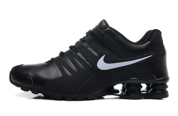 Mens Nike Shox Current All Black White 40-46 Wholesale