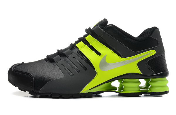 Mens Nike Shox Current Black Green 40-46 For Sale