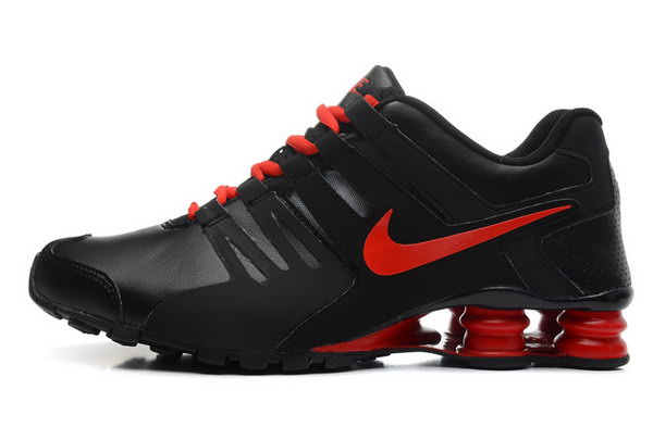 Mens Nike Shox Current Black Red 40-46 Online Store