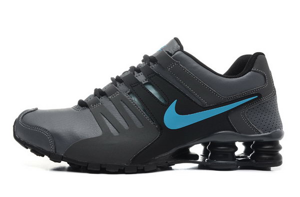 Mens Nike Shox Current Grey Blue 40-46 Japan