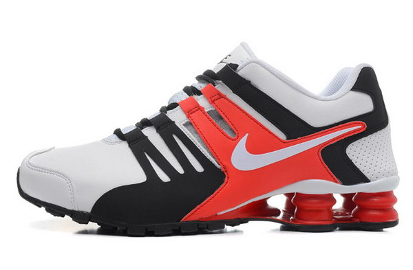 Mens Nike Shox Current White Black Red 40-46 Promo Code