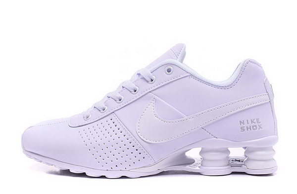 Mens Nike Shox Deliver All White 40-46 Discount Code