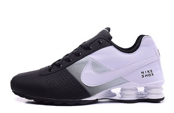 Mens Nike Shox Deliver Black White 40-46 Discount