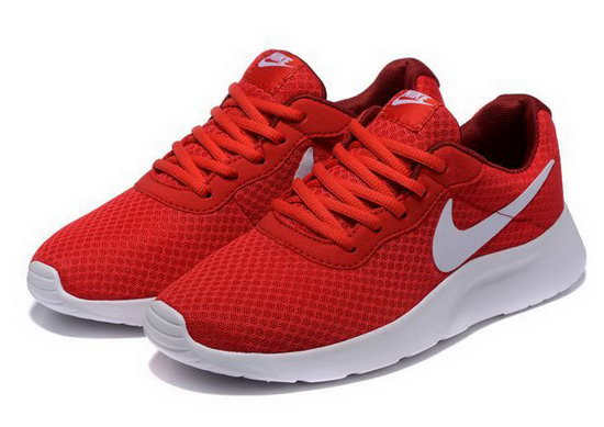 Mens Nike Tanjun Red White Spain