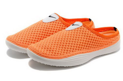 Mens Nike Trainers Solarsoft Mule Slide Sandals Orange France