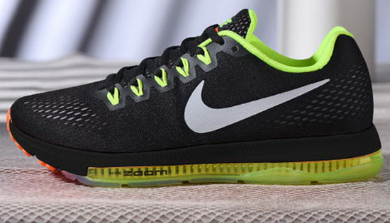 Mens Nike Zoom All Out Black Green Orange 40-44 Factory Store