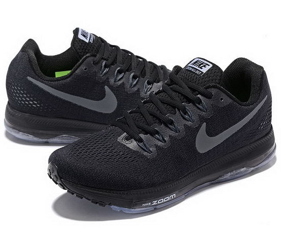 Mens Nike Zoom All Out Black Silver 40-45 Outlet Online