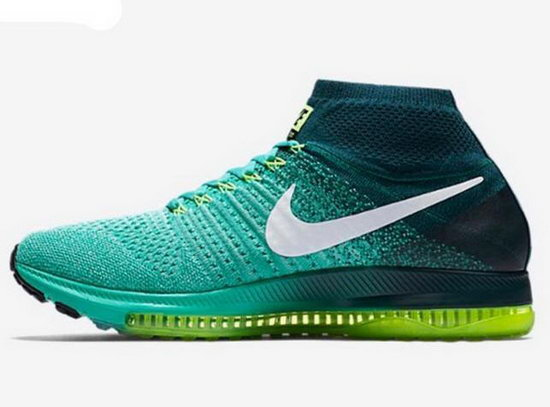 Mens Nike Zoom All Out Flyknit Mint Green Best Price