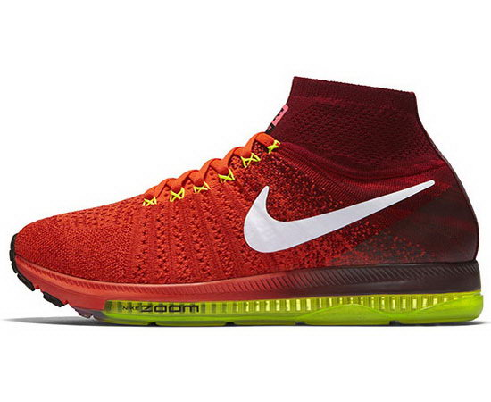 Mens Nike Zoom All Out Flyknit Red Outlet