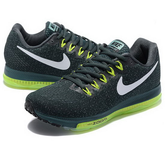 Mens Nike Zoom All Out Green Grey 40-45 Reduced