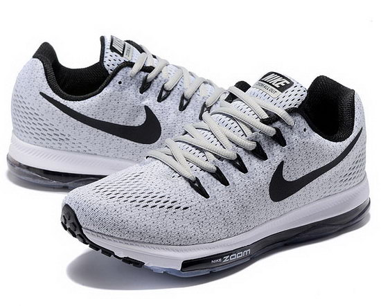 Mens Nike Zoom All Out White Grey Black 40-45 Taiwan