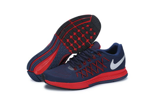 Mens Nike Zoom Pegasus 32 Dark Blue Red Discount Code