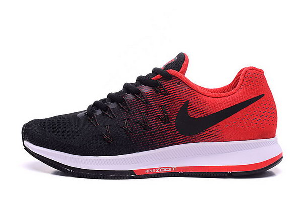 Mens Nike Zoom Pegasus 33 Black Red 40-45 Inexpensive