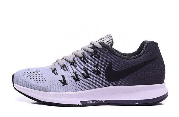 Mens Nike Zoom Pegasus 33 Black Sliver 40-45 New Zealand