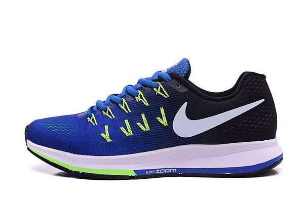 Mens Nike Zoom Pegasus 33 Blue Black White 40-45 Italy