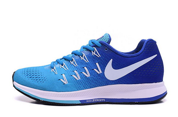 Mens Nike Zoom Pegasus 33 Blue Dark Blue White 40-45 Coupon