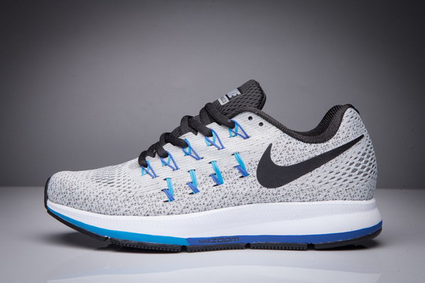 Mens Nike Zoom Pegasus 33 Grey Black 40-45 Sweden