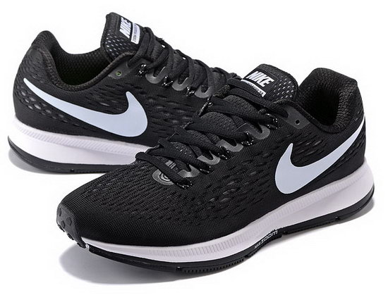Mens Nike Zoom Pegasus 34 Black White 40-45 Factory Outlet
