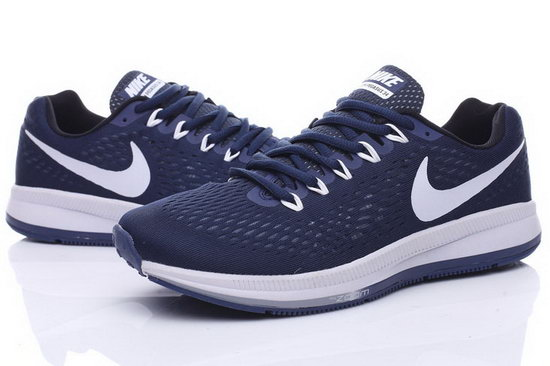 Mens Nike Zoom Pegasus 34 Blue White 40-44 Inexpensive