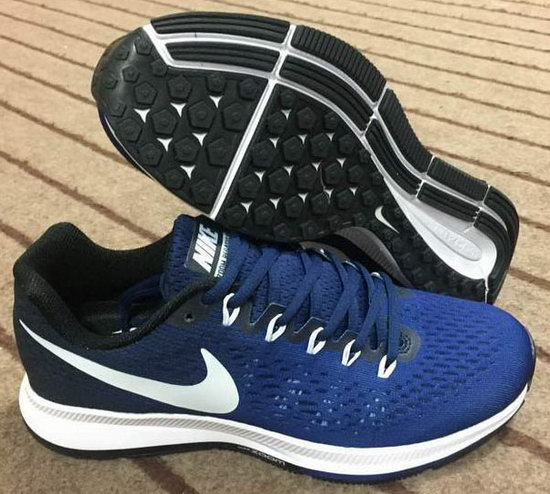 Mens Nike Zoom Pegasus 34 Dark Blue Black 40-44 New Zealand