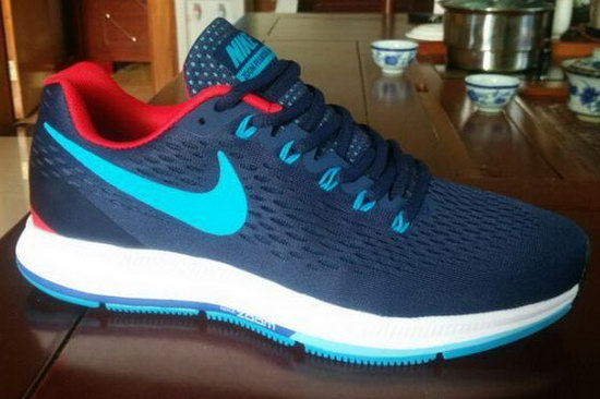 Mens Nike Zoom Pegasus 34 Dark Blue Jade 40-45 Factory