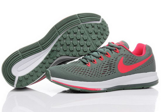 Mens Nike Zoom Pegasus 34 Military Green Red 40-44 Coupon Code
