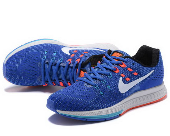 Mens Nike Zoom Structure 19 Blue White Orange 40-44 For Sale