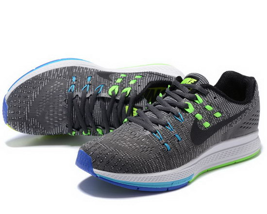 Mens Nike Zoom Structure 19 Grey Black Green 40-44 Online Store