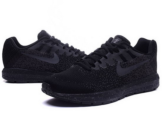Mens Nike Zoom Structure 20all Black 40-45 Outlet Store