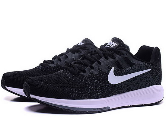 Mens Nike Zoom Structure 20black Grey White 40-45 Australia
