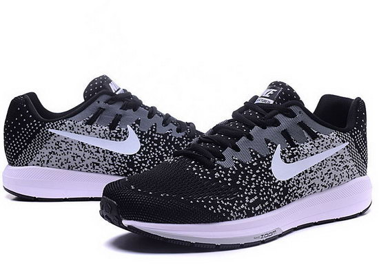 Mens Nike Zoom Structure 20black Light Grey White 40-45 Clearance
