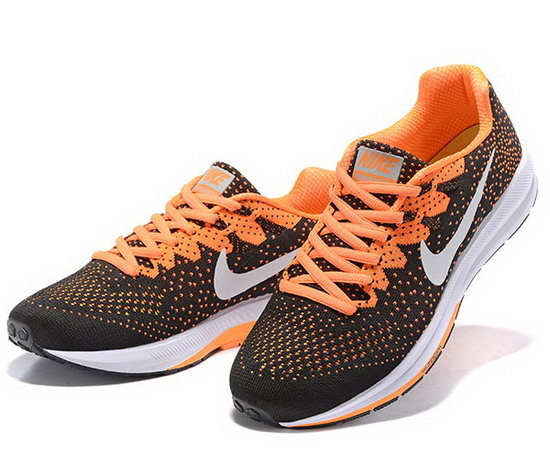 Mens Nike Zoom Structure 20black Orange 40-45 Korea