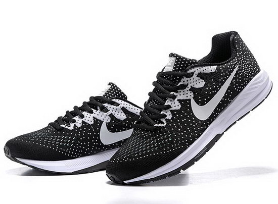 Mens Nike Zoom Structure 20black White 40-45 Czech