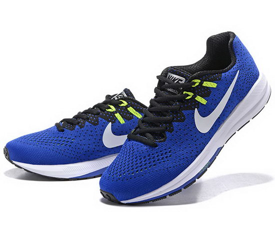 Mens Nike Zoom Structure 20blue Black 40-45 Low Cost