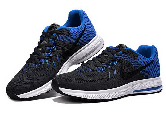 Mens Nike Zoom Winflo 2 Black Blue 40-45 Australia