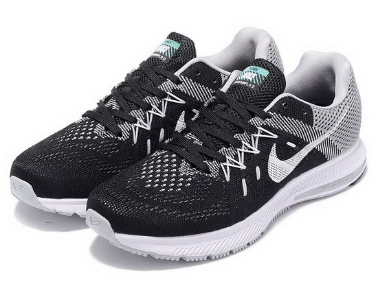 Mens Nike Zoom Winflo 2 Black Grey White 40-45 Low Cost
