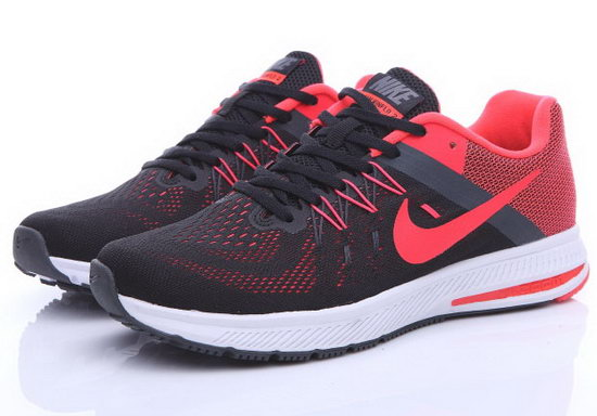 Mens Nike Zoom Winflo 2 Black Red 40-44 Cheap