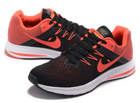 Mens Nike Zoom Winflo 2 Black Red 40-45 Best Price
