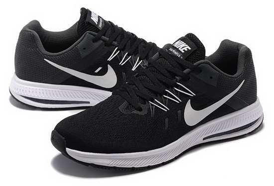 Mens Nike Zoom Winflo 2 Black White 40-45 Discount Code