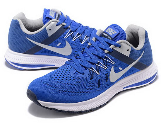 Mens Nike Zoom Winflo 2 Blue Grey 40-45 Denmark