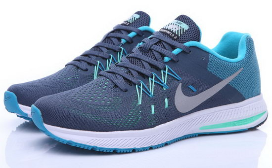 Mens Nike Zoom Winflo 2 Charcoal Blue 40-44