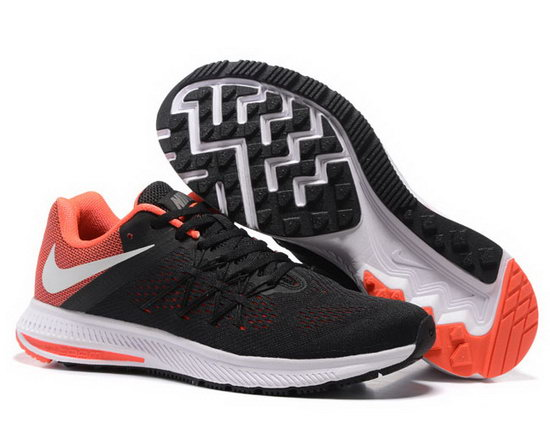 Mens Nike Zoom Winflo 3 Black Orange 40-45 Poland