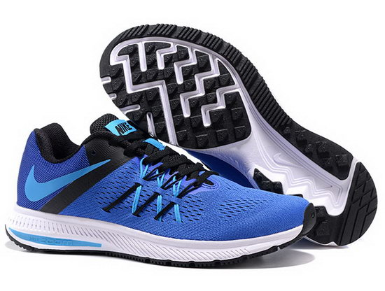 Mens Nike Zoom Winflo 3 Blue Black 40-45 Wholesale