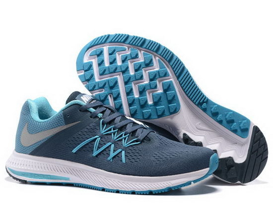 Mens Nike Zoom Winflo 3 Dark Blue Jade 40-45 For Sale
