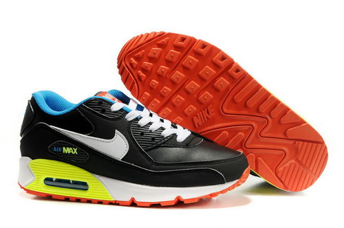 Mens Size Us7.5 9 10.5 11.5 Air Max 90 Black Yellow Orange Germany